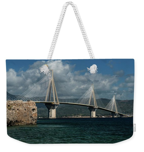 Rio-andirio Hanging Bridge Weekender Tote Bag