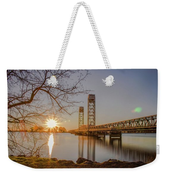 Rio Vista Morning Weekender Tote Bag