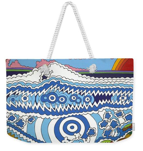 Rip Tide Weekender Tote Bag