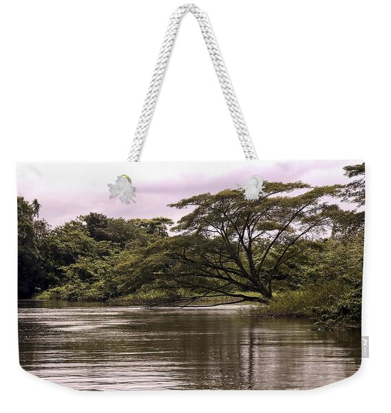 Riparian Rainforest Canopy Weekender Tote Bag