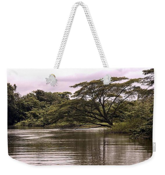 Riparian Rainforest Canopy Weekender Tote Bag
