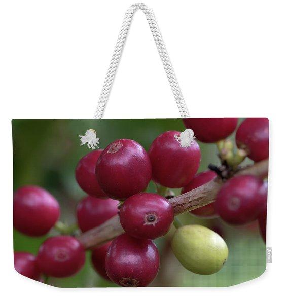 Ripe Kona Coffee Cherries Weekender Tote Bag