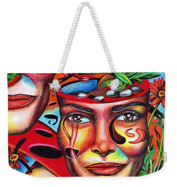 Ripening Of A Lucid Psyche Weekender Tote Bag