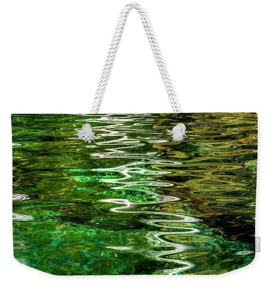 Ripple Paintings Weekender Tote Bag