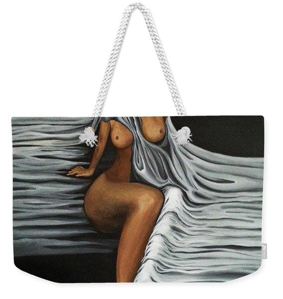 Ripple Shawl Weekender Tote Bag