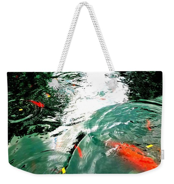 Ripple To The Past  Weekender Tote Bag