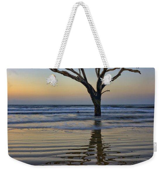 Rippled Reflection - Botany Bay Weekender Tote Bag