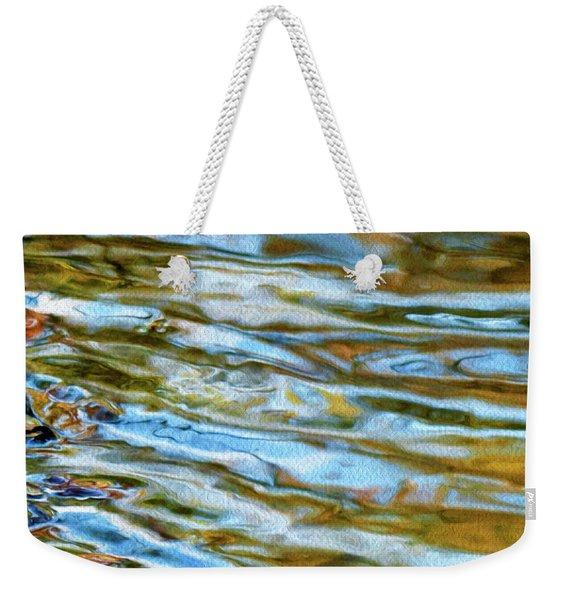 Ripples 07 Weekender Tote Bag