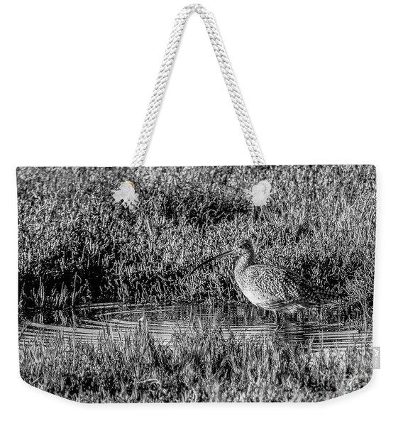Camouflage, Black And White Weekender Tote Bag
