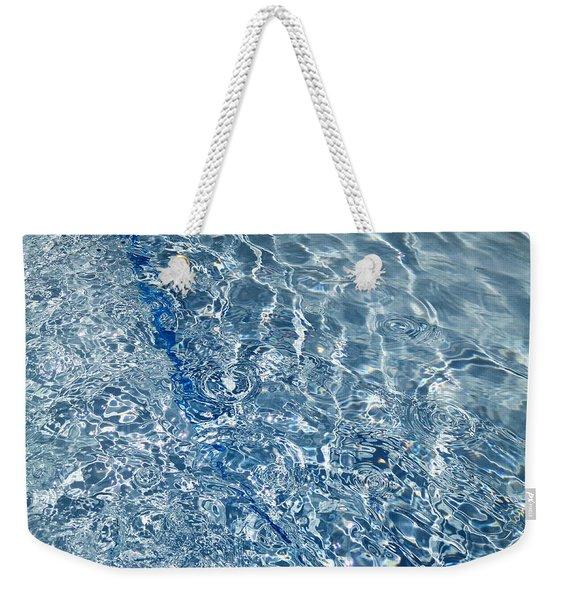 Ripples Of Summer Weekender Tote Bag