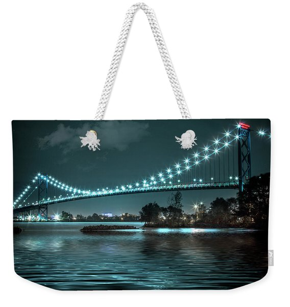 Ripples On The Detroit River Weekender Tote Bag