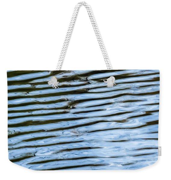 Ripples Weekender Tote Bag