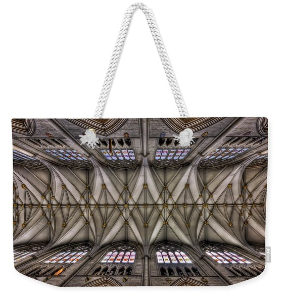 Rise Above Weekender Tote Bag