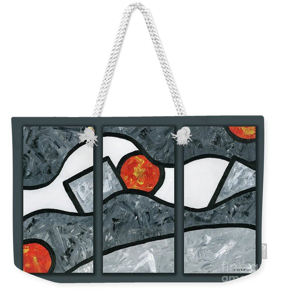 Rise And Fall Triptych Weekender Tote Bag