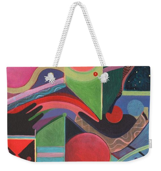 Rising Above And Synergy 2 Weekender Tote Bag