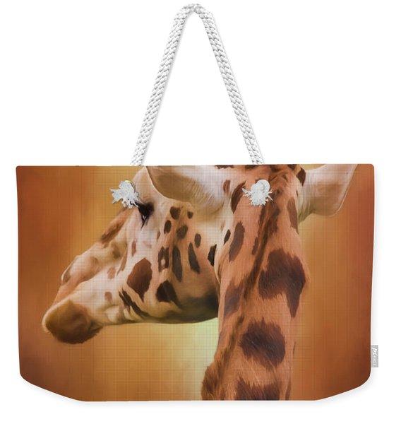 Rising Above - Giraffe Art Weekender Tote Bag