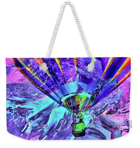 Rising Balloon Abstract Weekender Tote Bag
