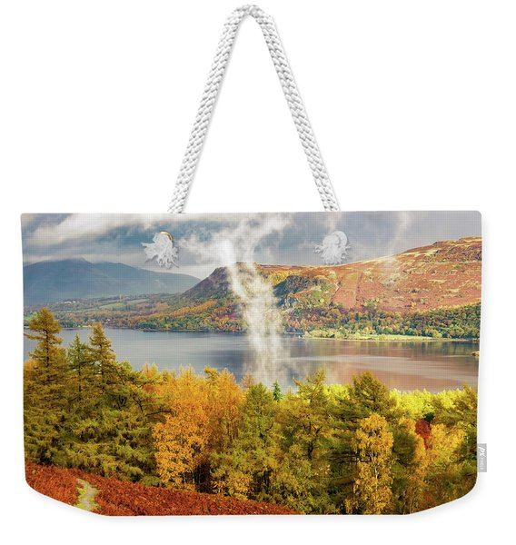 Rising Mist Weekender Tote Bag