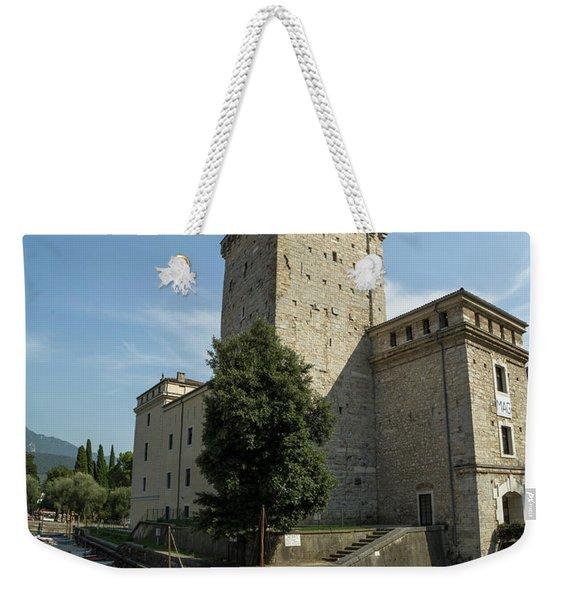 Riva Del Garda Fortress Weekender Tote Bag