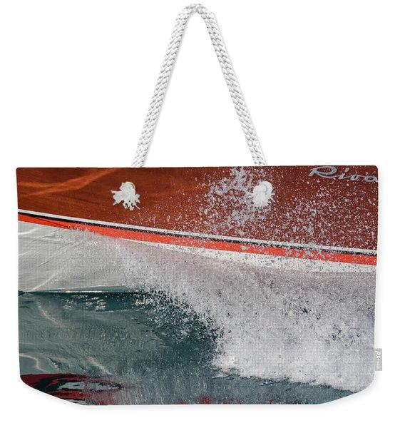 Iconic Riva Weekender Tote Bag