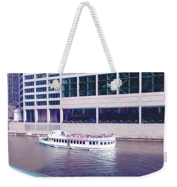 River Boat Tour Weekender Tote Bag