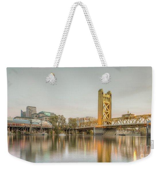 River City Waterfront Weekender Tote Bag