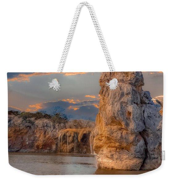 River Cruise Weekender Tote Bag