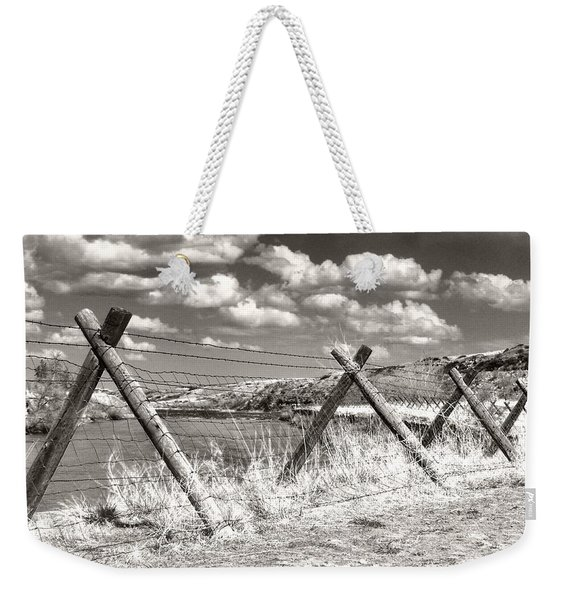 River Drama Weekender Tote Bag