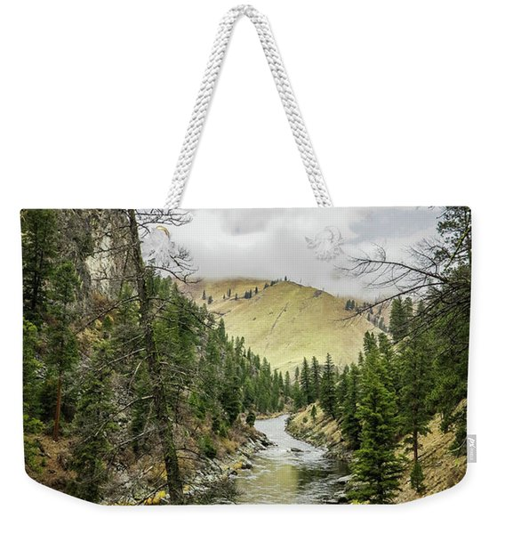 River In The Canyon Weekender Tote Bag