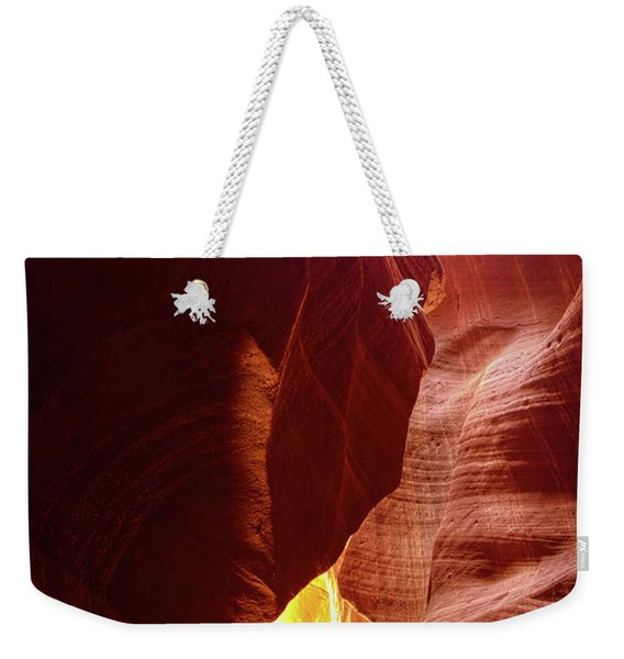 River Of Gold Weekender Tote Bag