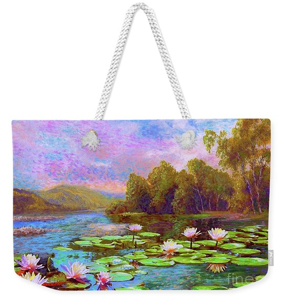 The Wonder Of Water Lilies Weekender Tote Bag