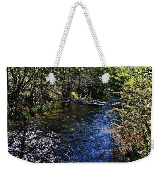 River Of Peace Weekender Tote Bag