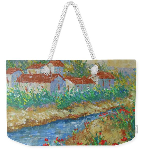 River Of Provence Weekender Tote Bag
