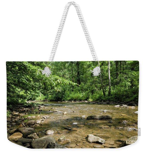 River Rock Shine  Weekender Tote Bag