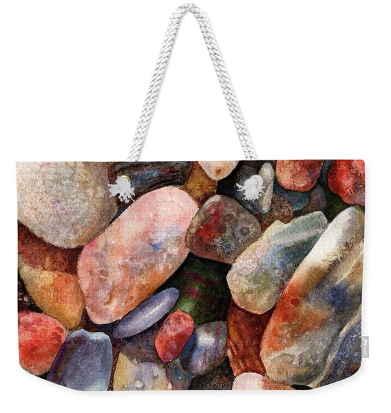 River Rocks Weekender Tote Bag