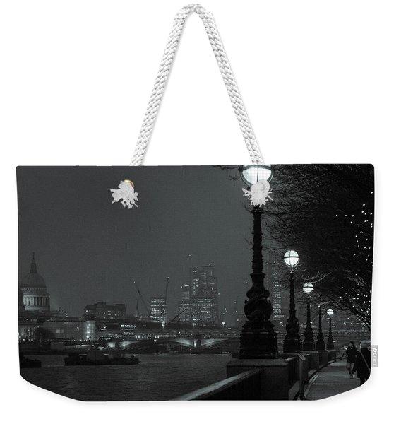 River Thames Embankment, London 2 Weekender Tote Bag