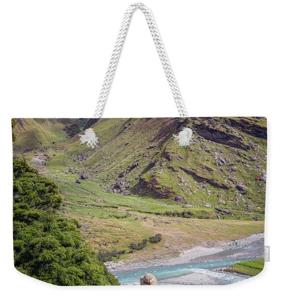 River Valley Overlook New Zealand Weekender Tote Bag