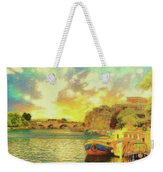 River View Weekender Tote Bag
