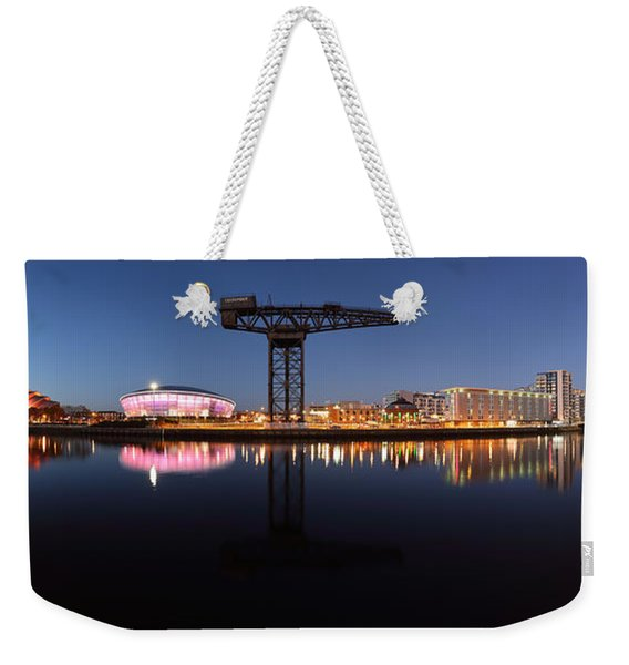 River View Panoramic Weekender Tote Bag
