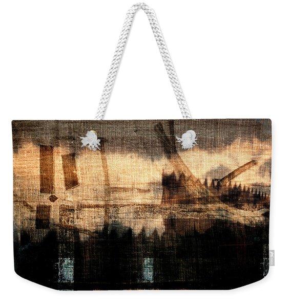 River Walk Shadows Weekender Tote Bag