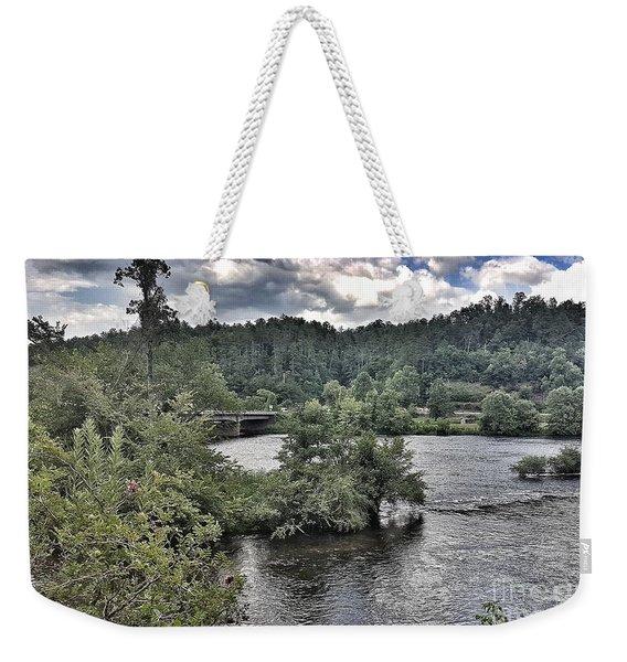 River Wonders Weekender Tote Bag