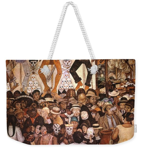 Rivera: Day Of The Dead Weekender Tote Bag