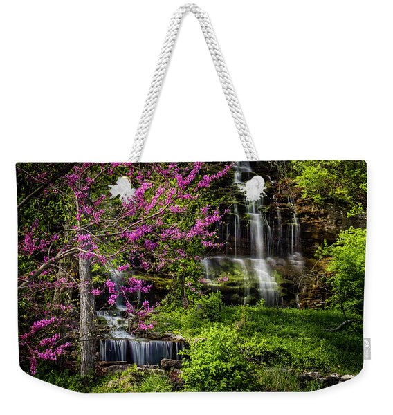 Rivercut Waterfall Weekender Tote Bag