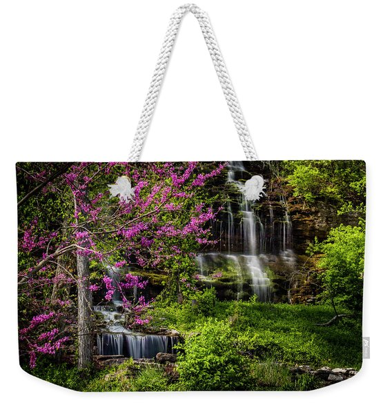 Rivercut Waterfall Weekender Tote Bag