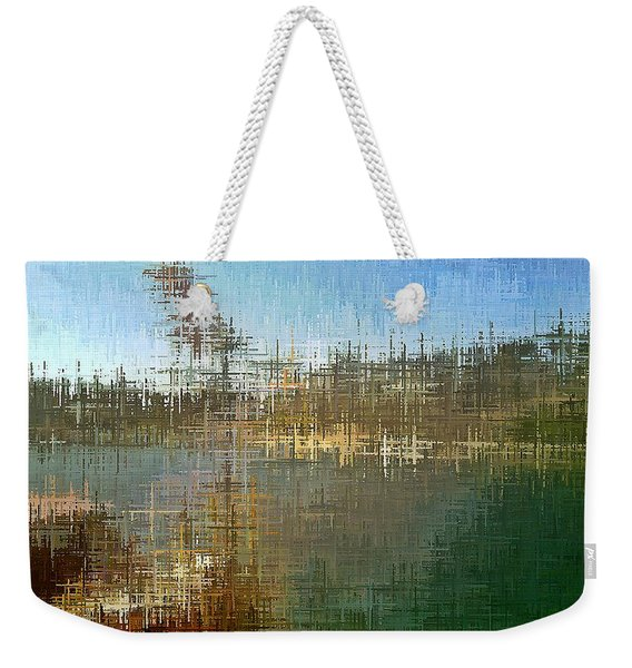 River's Edge Weekender Tote Bag