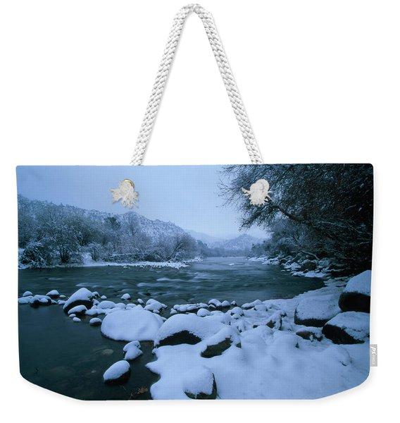 Riverside Park - Kernville California Weekender Tote Bag