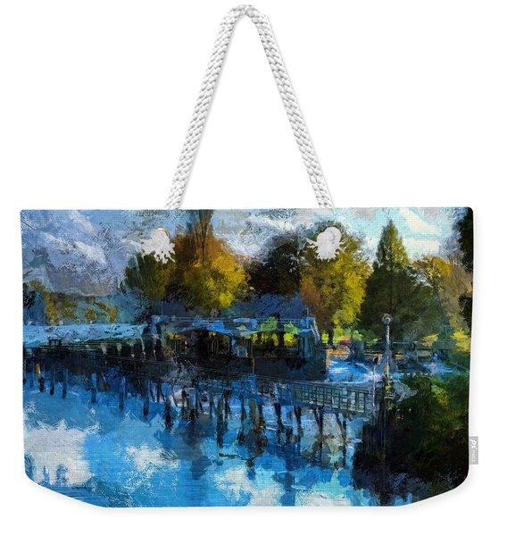 Riverview Weekender Tote Bag