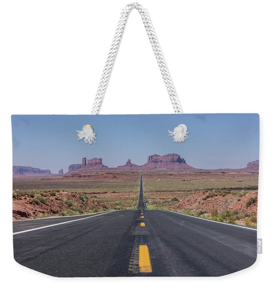 Road To Monument Valley  Weekender Tote Bag