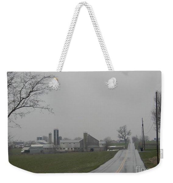 Road To Paradise Weekender Tote Bag