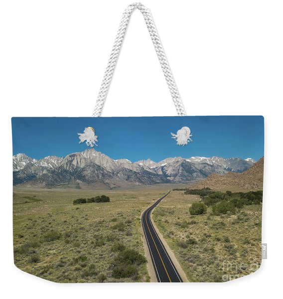 Road To Sierra  Weekender Tote Bag